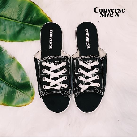 260016a0b39d Converse Shoes - Chuck Taylor All Star Cutaway EVO Canvas Sandals